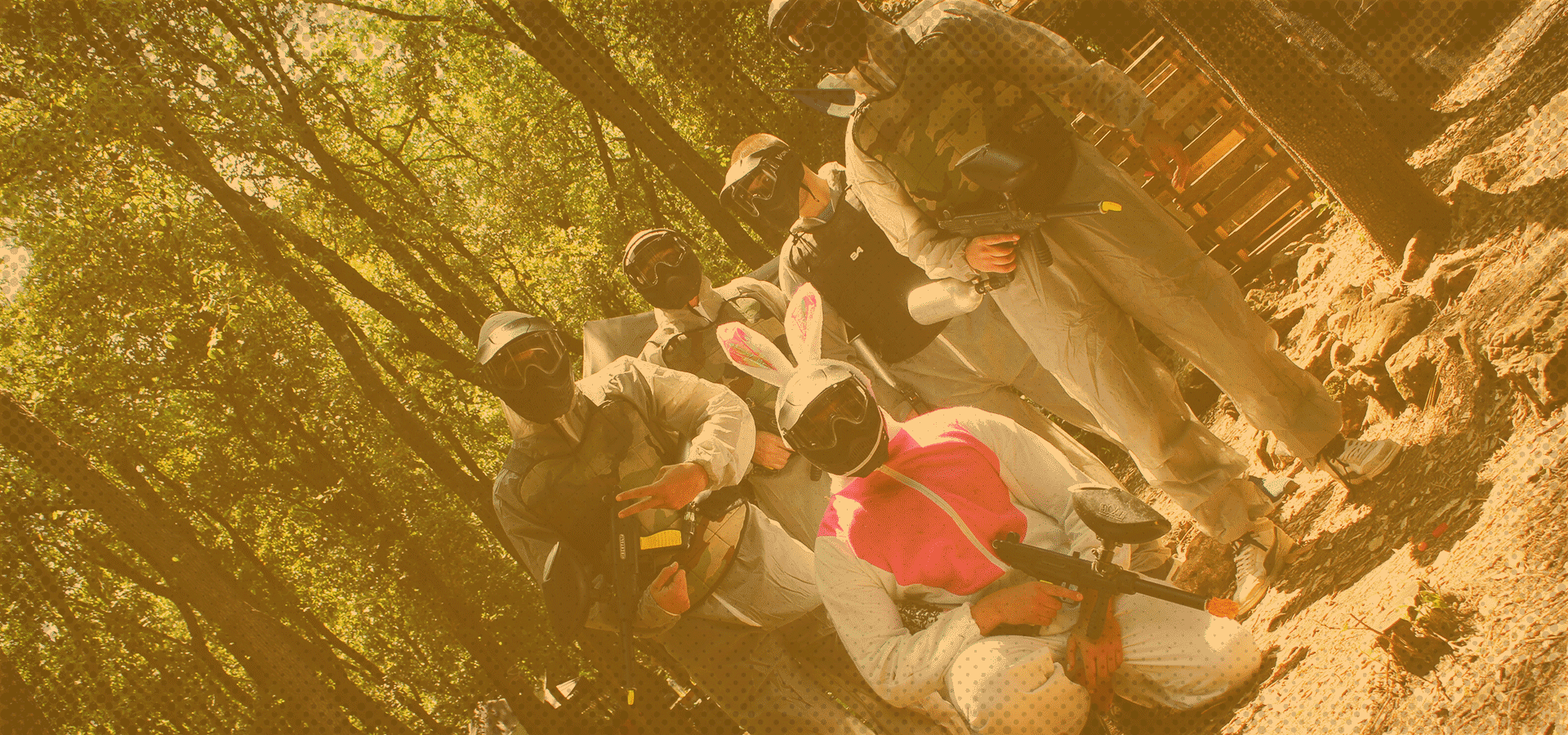 paintball enterrement vie de célibataire
